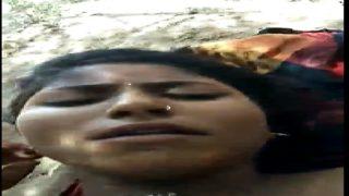 Sexy Telugu Item Aunty Fucked Hard In Forest