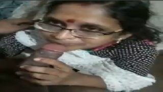 Mature telugu mom sucking penis of son's teacher