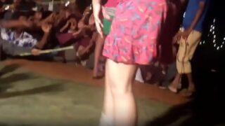 Night telugu naked recording dance video