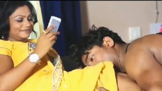 Telugu porn xxx lo aunty tho abbayi dengu